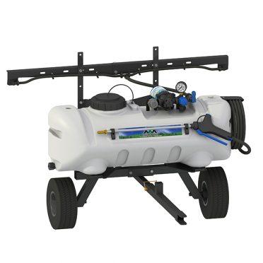 lawn trailer broadcast sprayer