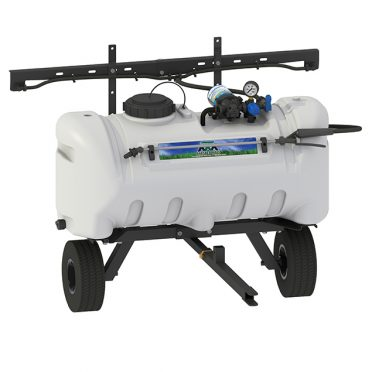 25 gallon broadcast trailer sprayer