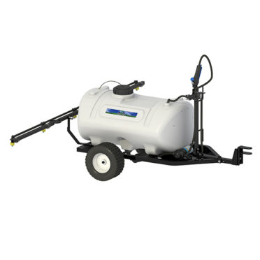 premium trailer broadcast sprayer