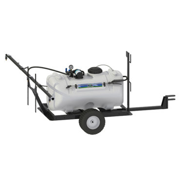 40 gallon trailer broadcast sprayer