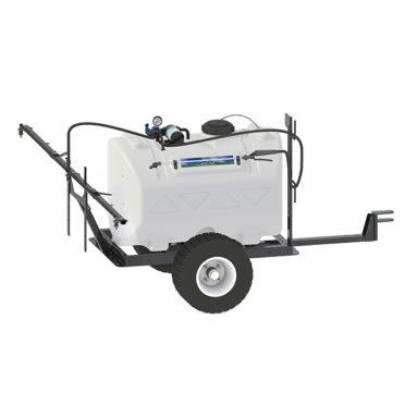 60 gallon trailer broadcast sprayer