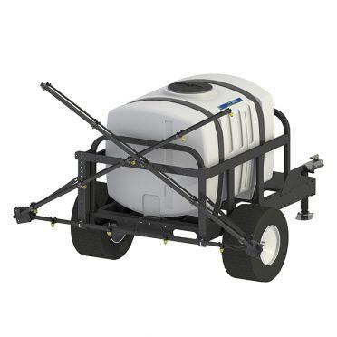 200 gallon premium broadcast trailer sprayer